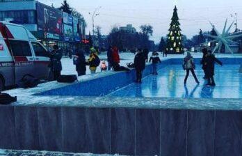 Ребёнок пострадал, по словам бельчанки, упав в городском фонтане Бельц, сегодня, 19 января