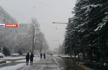 На следующей неделе в Бельцах ожидается снег