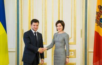 (ru/md) Майя Санду отправилась с официальным визитом в Киев на машине