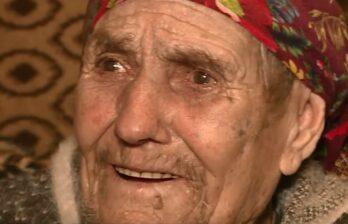(ВИДЕО) Старейшая женщина Молдовы получает пенсию всего 1400 леев!