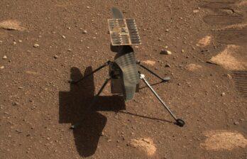 (ВИДЕО) Вертолёт на Марсе - прямой эфир в 13:15