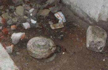 В Глодянах в подвале жилого дома обнаружили противотанковую мину