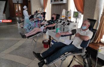 В Бельцах состоялся Международный День Донора
