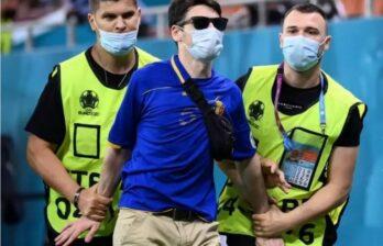 Молдаванин остановил матч ЕВРО-2021...