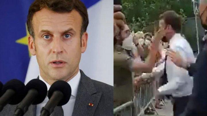 Срок за пощечину: суд вынес приговор французу, ударившему президента