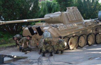 В Германии пенсионера судят за хранение танка «Пантера» в подвале дома