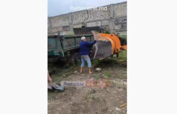 ⚡ В Бельцах спасли рабочего, который оказался под грузовиком ⚡