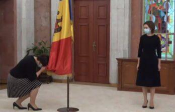 Присяга нового правительства Молдовы во главе Натальи Гаврилицы