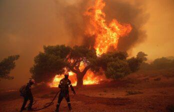 Молдова окажет Греции помощь в тушении лесных пожаров: в страну направлены 25 пожарных и четыре единицы спецтехники
