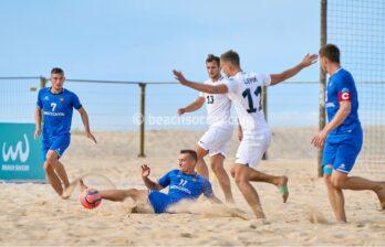 Сборная Молдовы по пляжному футболу заняла третье место в Португалии