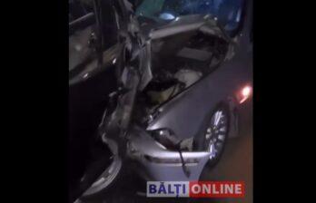 ДТП на восьмом квартале: четыре машины сильно пострадали (ВИДЕО)