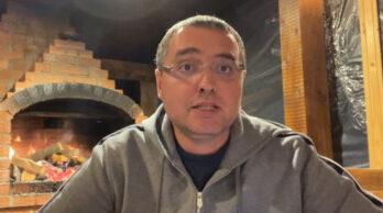 Ренато Усатый вышел в прямой эфир в Фейсбуке, где говорит о задержании генпрокурора Стояногло.